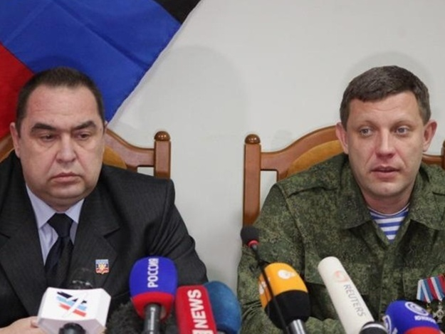 """Захарченко и Плотницкий заявили, что """"компромиссы с Киевом больше невозможны"""""""