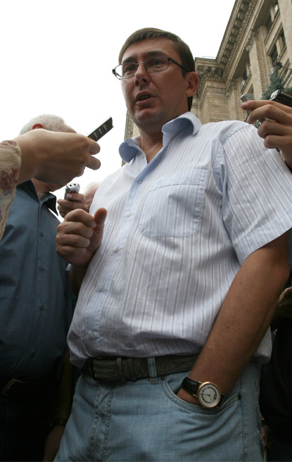 Юрий Луценко – смотрящий российской «лужниковской группы» в Украине. Фотофакт