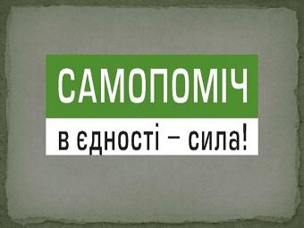 """Херсонская """"Самопоміч"""" ушла под контроль экс - """"регионалов"""""""