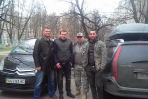 Батальон «Киев-2» выследил и задержал группу преступников, специализирующихся на кражах и угонах автомобилей