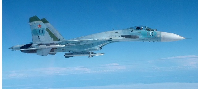 Версия Минобороны РФ: американский самолёт прорывался в Россию