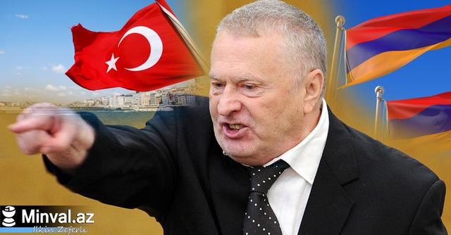 Жириновский: Надо позволить армянам захватить земли Турции