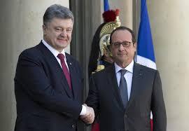 Французских журналистов возмутила речь Порошенко в Париже