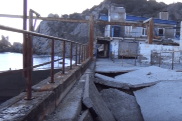 Появилось шокирующее видео с разрухой в оккупированном Крыму