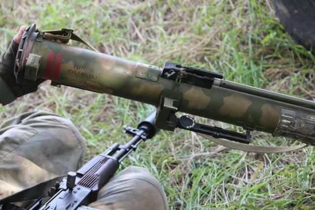 ДРГ РФ используют самое современное вооружение