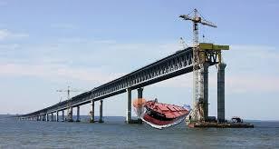 Секретные фото строительства фашистами Керченского моста