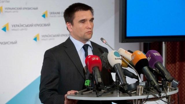 Климкин: Контроль над границей должен быть возвращен на второй день после выборов