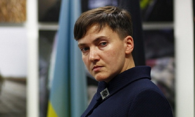 """""""Военная хитрость"""": Савченко рассказала, как выиграть войну на Донбассе за два месяца"""