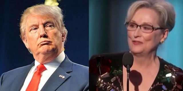 Трамп объяснил критику Мерил Стрип в его сторону на «Золотом Глобусе»
