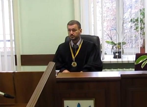Судья Подольского суда столицы Олег Васильченко: типичное лицо украинского суда