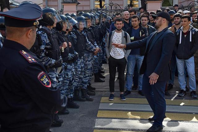 В мэрии Москвы заметили митинг мусульман