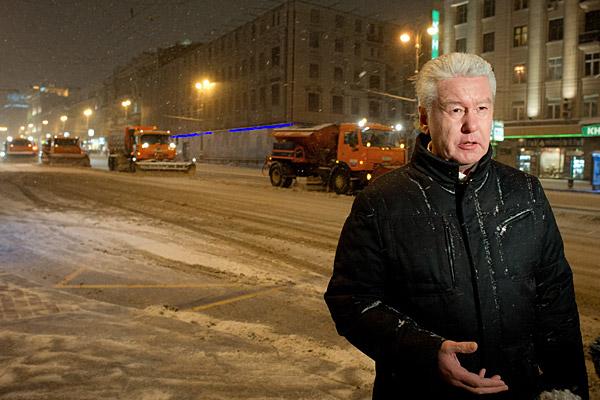 Пиар-машина Сергея Собянина