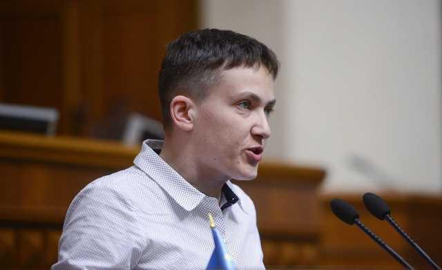 Савченко потрясла сумкой и устроила бардак в прямом эфире