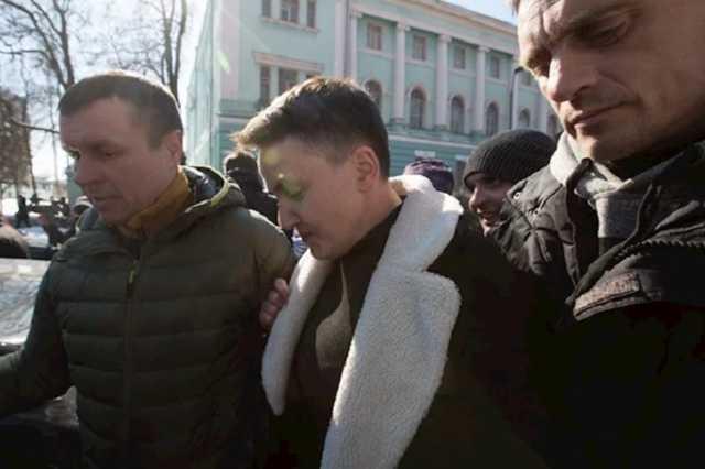 Савченко задержали прямо в Раде