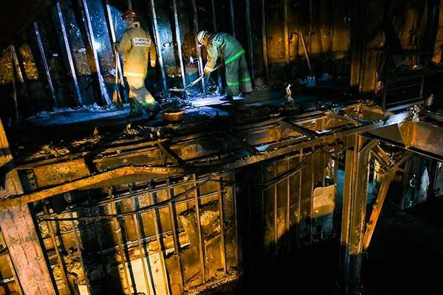 В Кемерово возобновился демонтаж «Зимней вишни»