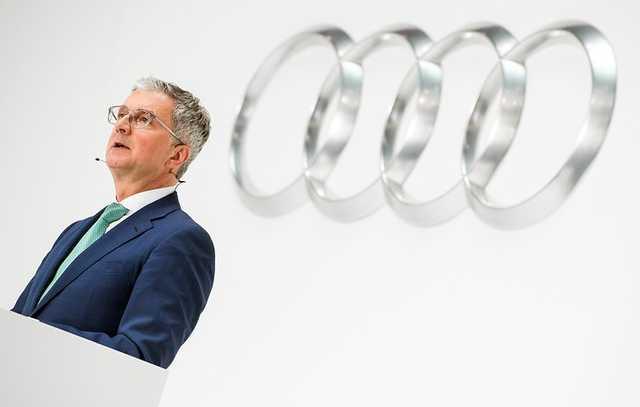 В Германии задержали гендиректора Audi