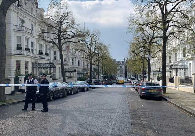 В Лондоне атаковали машину посла Украины, преступник задержан со стрельбой