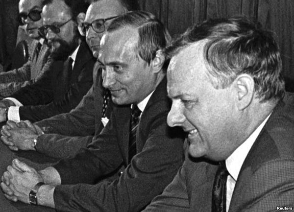 Анатолий Собчак и Владимир Путин, 1993 год